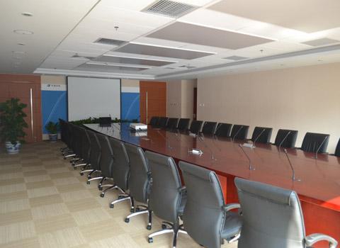中国华电重工多媒体会议室